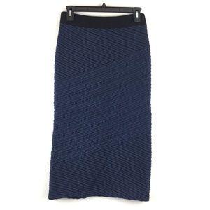 Anthro Moth Knit Skirt
